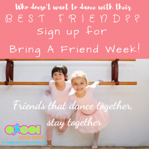 Bring a friend to dance