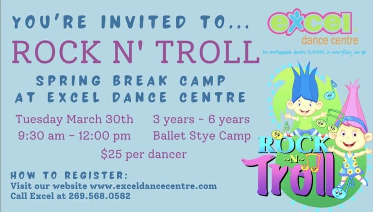 rock and troll dance camp